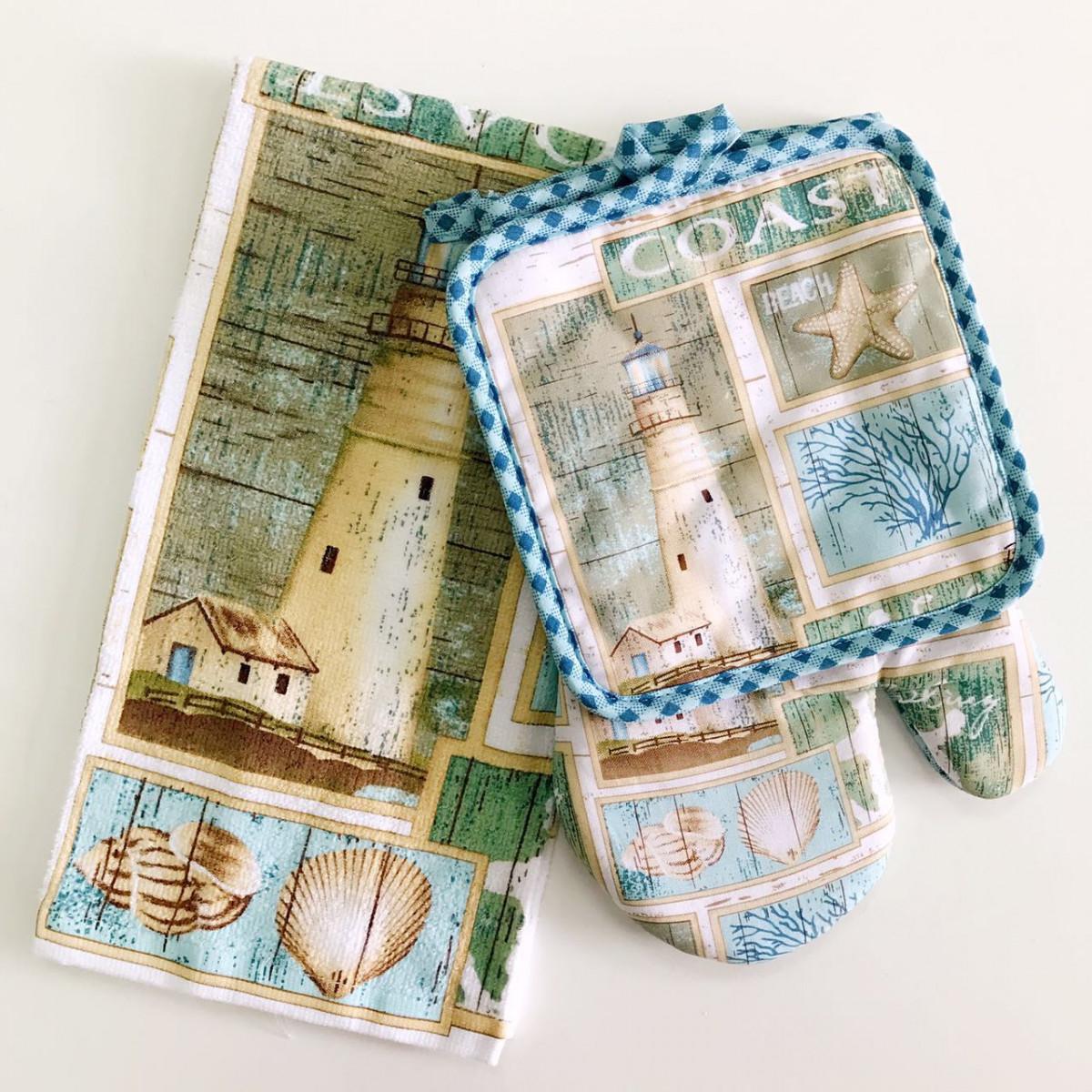 Полотенца Valtery Кухонное полотенце Старый маяк (38х63 см) полотенце bon appetit кухонное махровое жуки 38х63 см печатн