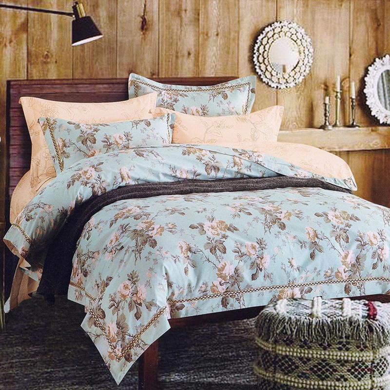 Купить Комплекты постельного белья Famille, Постельное белье Mabel (2 сп. евро), Китай, Бордовый, Фиолетовый, Хлопковый сатин