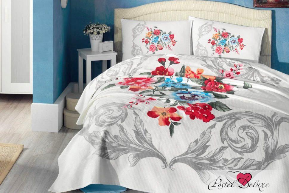 Купить Комплекты постельного белья Cotton Box, Постельное белье Sun Set (2 сп. евро), Турция, Белый, Серый, Ранфорс