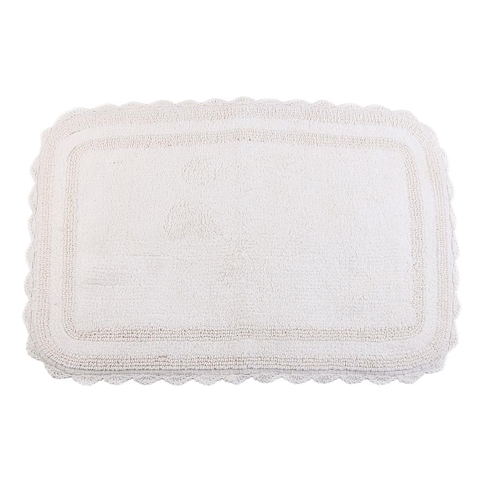 Купить Коврики для ванной и туалета Arloni, Коврик для ванной Nino Цвет: Бежевый (60х90 см), Индия, Махра