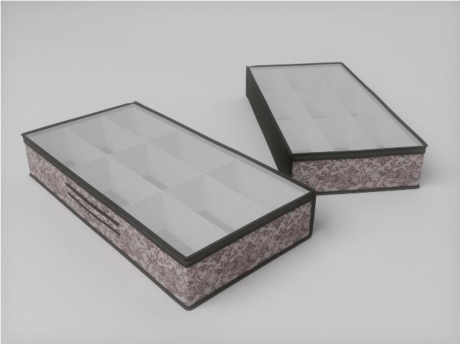Органайзеры и кофры CoFreT Кофр для обуви Ажур (15х45х90 см)