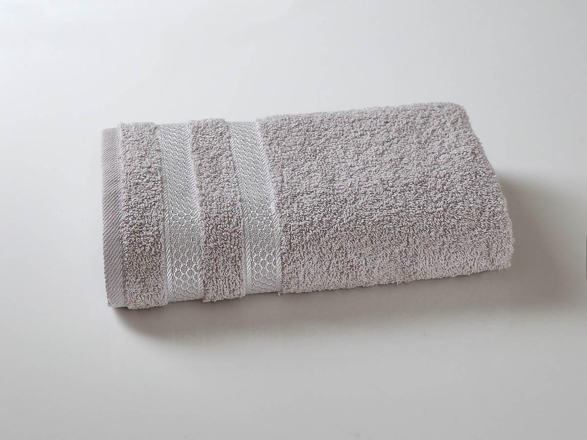 Купить Полотенца Karna, Полотенце Petek Цвет: Серый (70х140 см), Турция, Махра