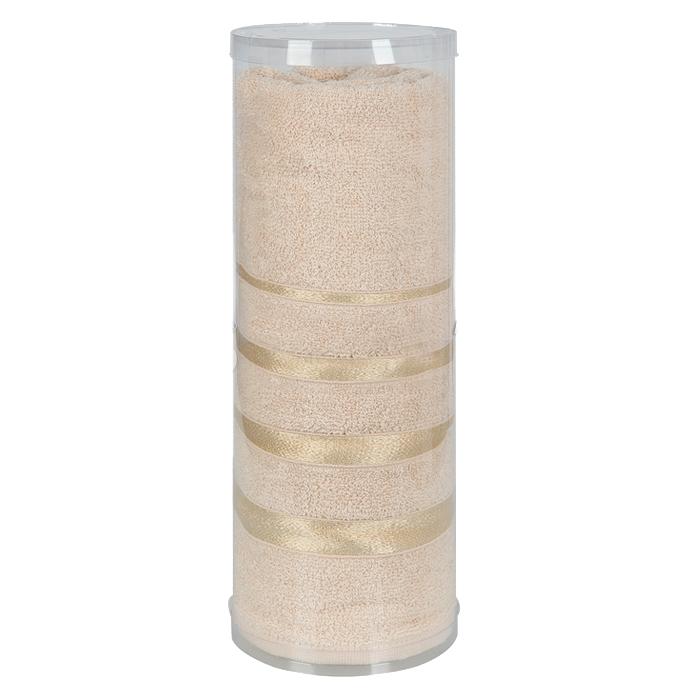 Купить Полотенца Soavita, Полотенце Шантони Цвет: Бежевый (65х138 см), Китай, Махра