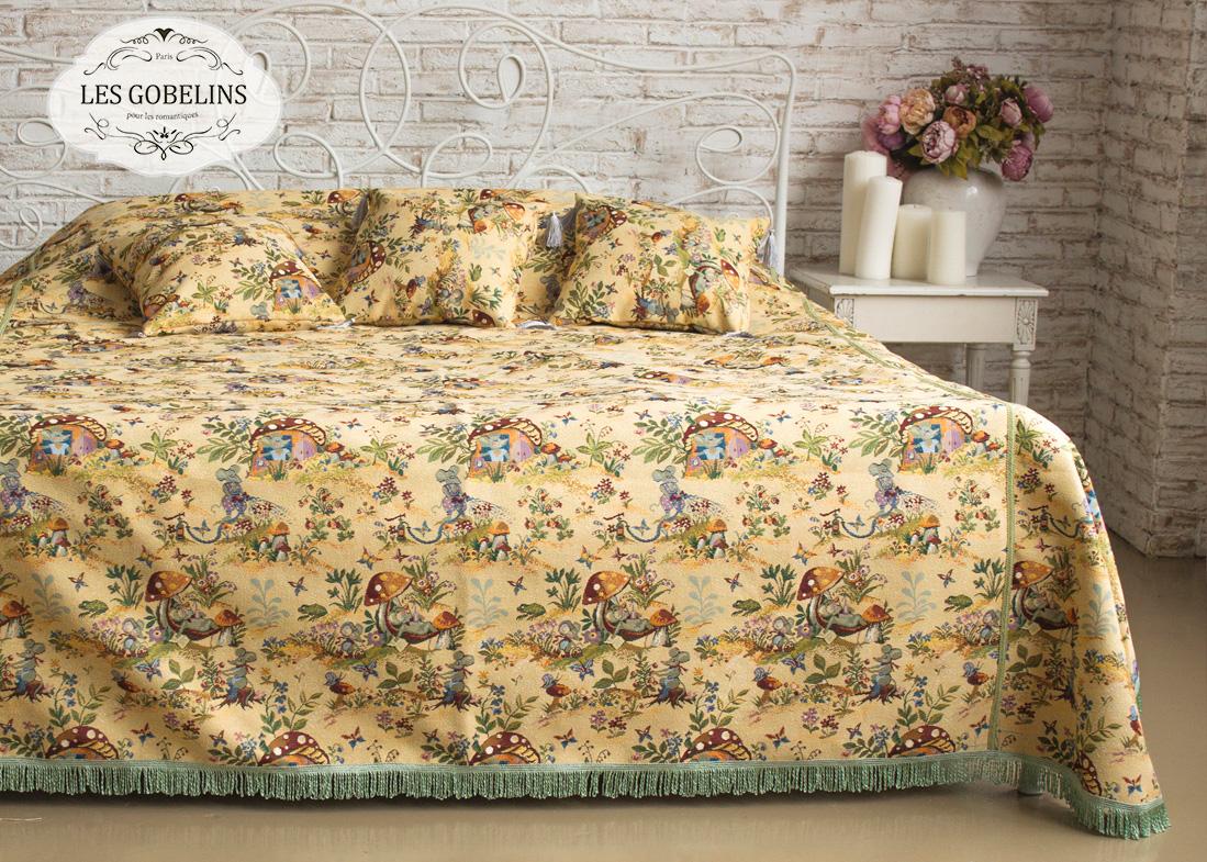 Покрывала, подушки, одеяла для малышей Les Gobelins Детское Покрывало на кровать Souris Drole (240х260 см)