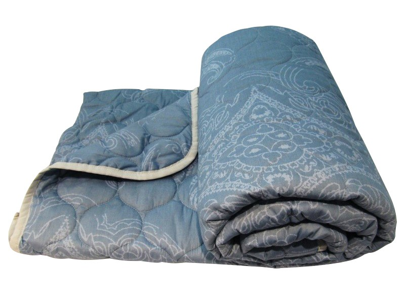 Купить Одеяла Fantasy, Одеяло Лебяжий пух Всесезонное Цвет: Мультиколор (140х205 см), Россия, Хлопковый сатин