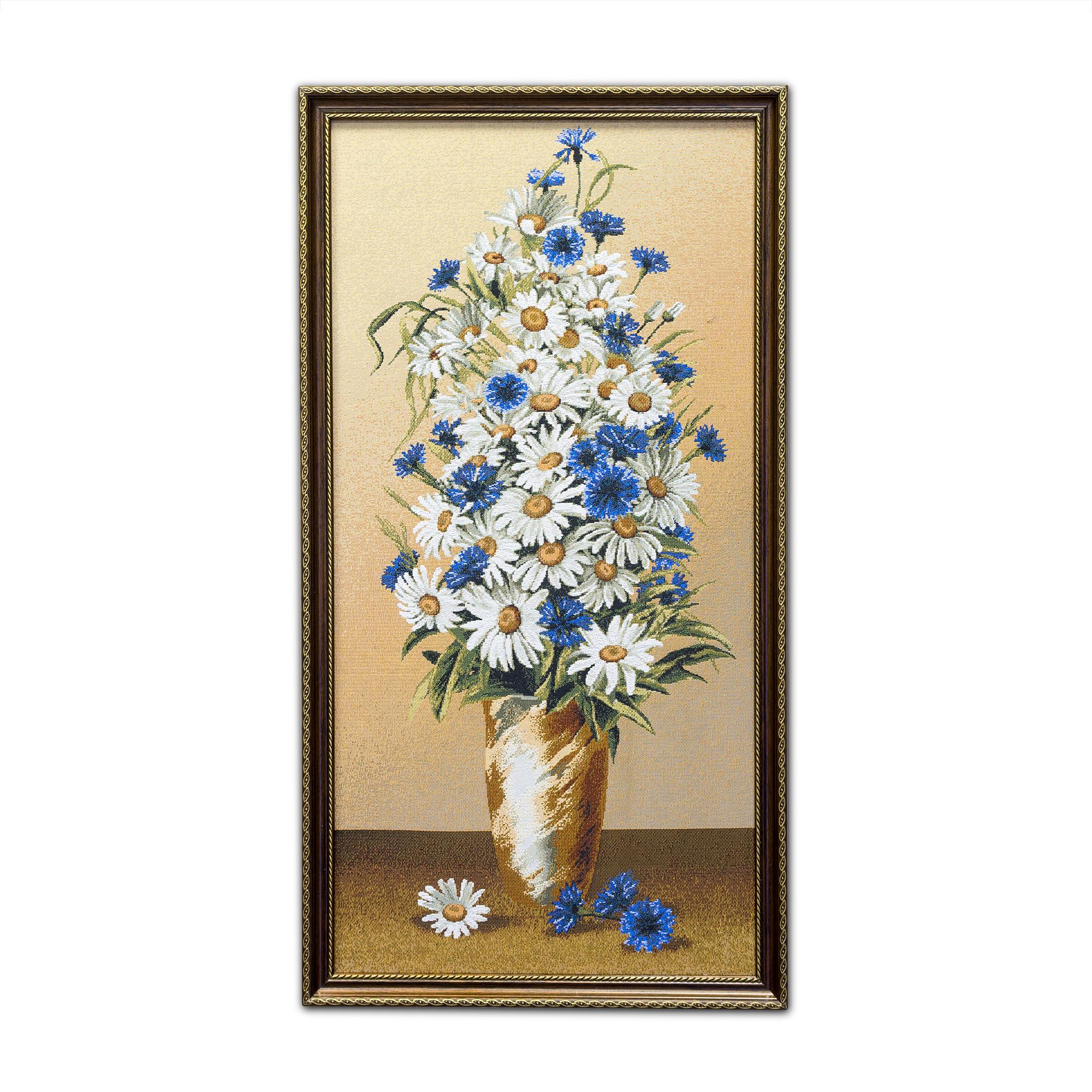 Купить Картины, постеры, гобелены, панно A La Gobelin, Картина Букет Летний (39х73 см), Россия, Гобелен