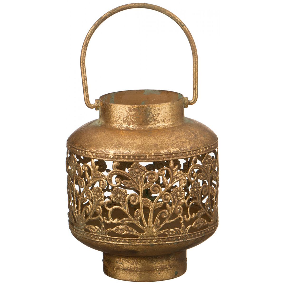 Купить Декоративные свечи Arti-M, Свеча-подсвечник Jophiel (14х14х17 см), Китай, Коричневый, Металл