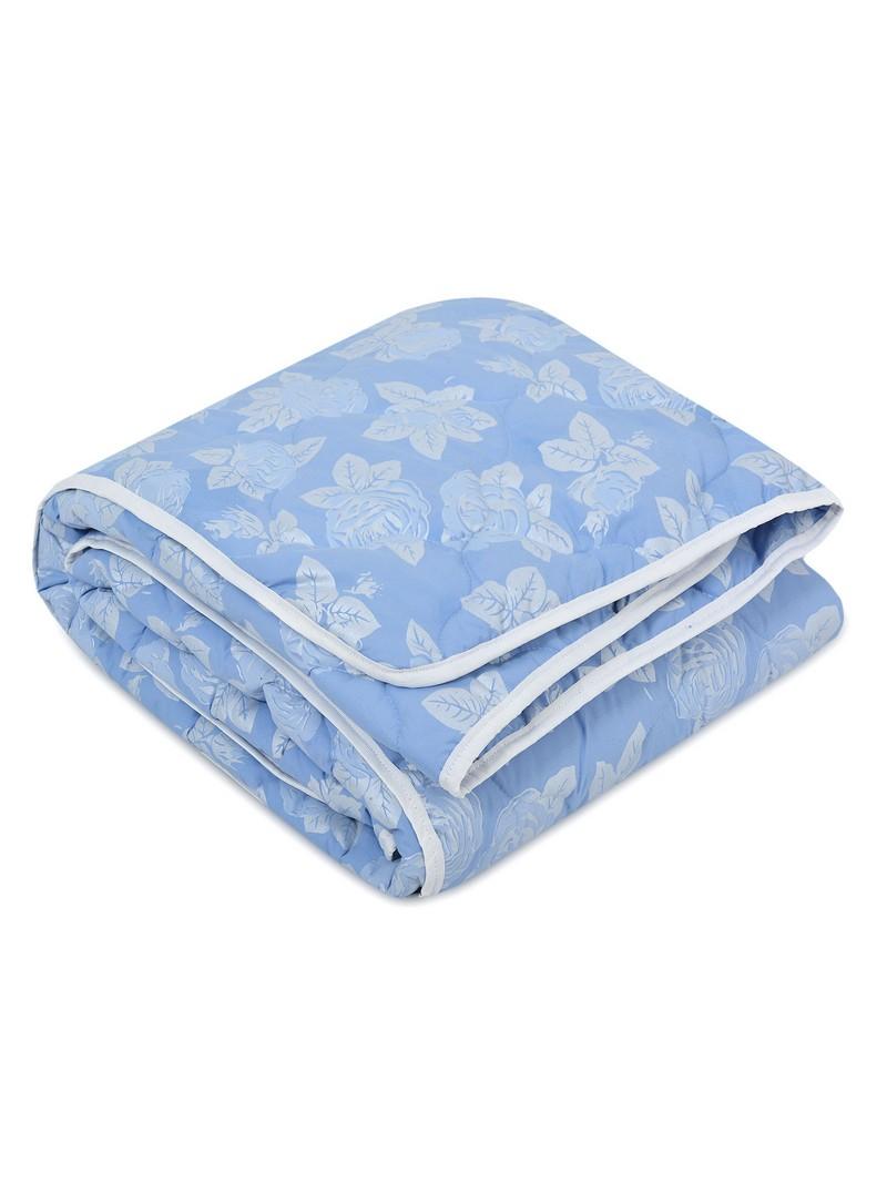 Купить Одеяла Fantasy, Одеяло Лебяжий пух Всесезонное Цвет: Голубой (200х220 см), Россия, Хлопковый тик
