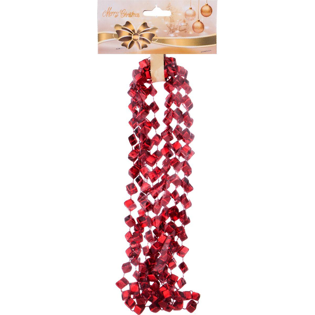 Декоративная гирлянда Алмазы Цвет: Рубиновый (270 см) Lefard lfr407354