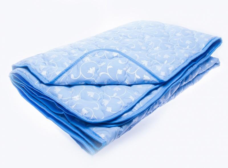 Купить Одеяла Fantasy, Одеяло Лебяжий пух Лёгкое Цвет: Голубой (200х220 см), Россия, Хлопковый тик