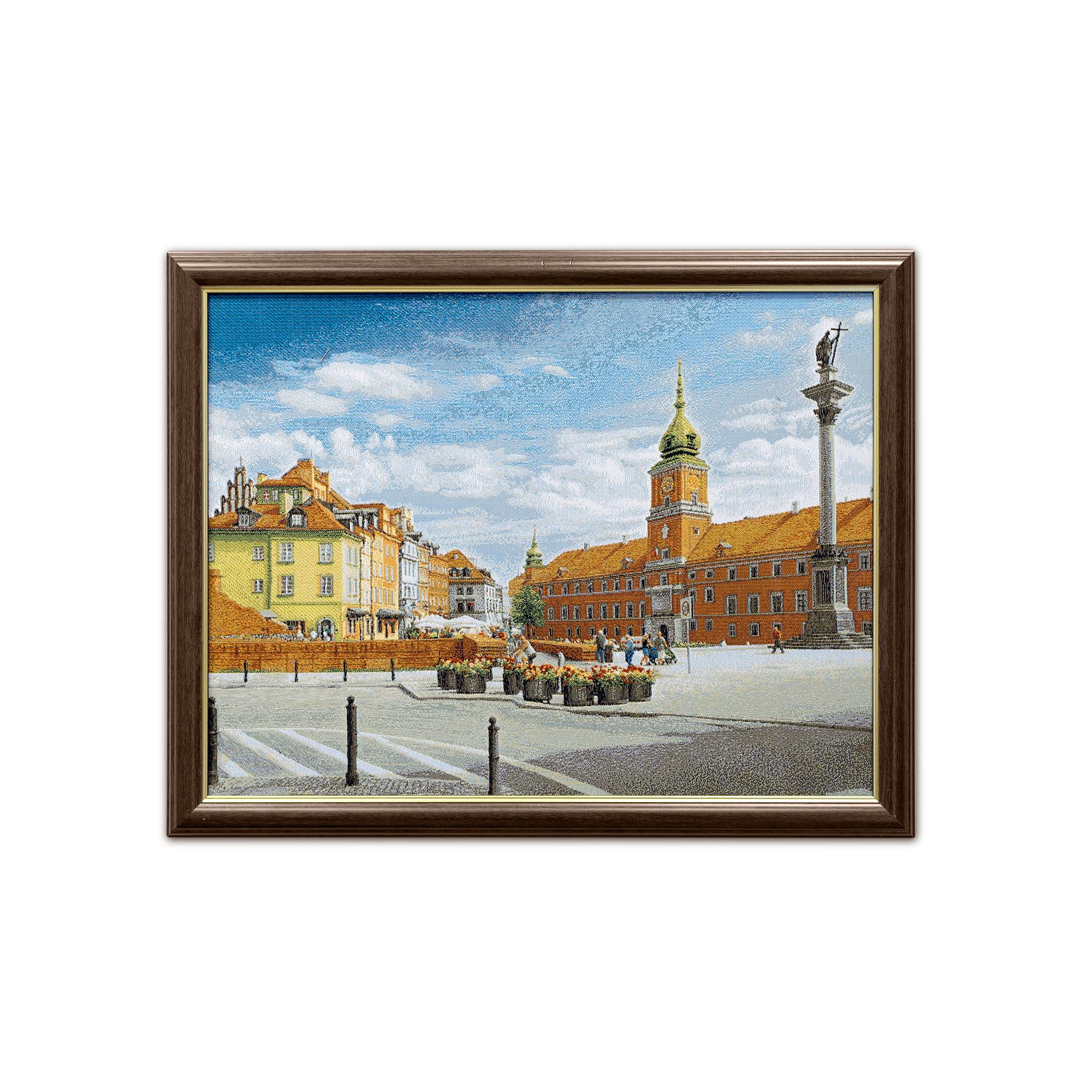 Купить Картины, постеры, гобелены, панно A La Gobelin, Картина Варшава (40х51 см), Россия, Гобелен