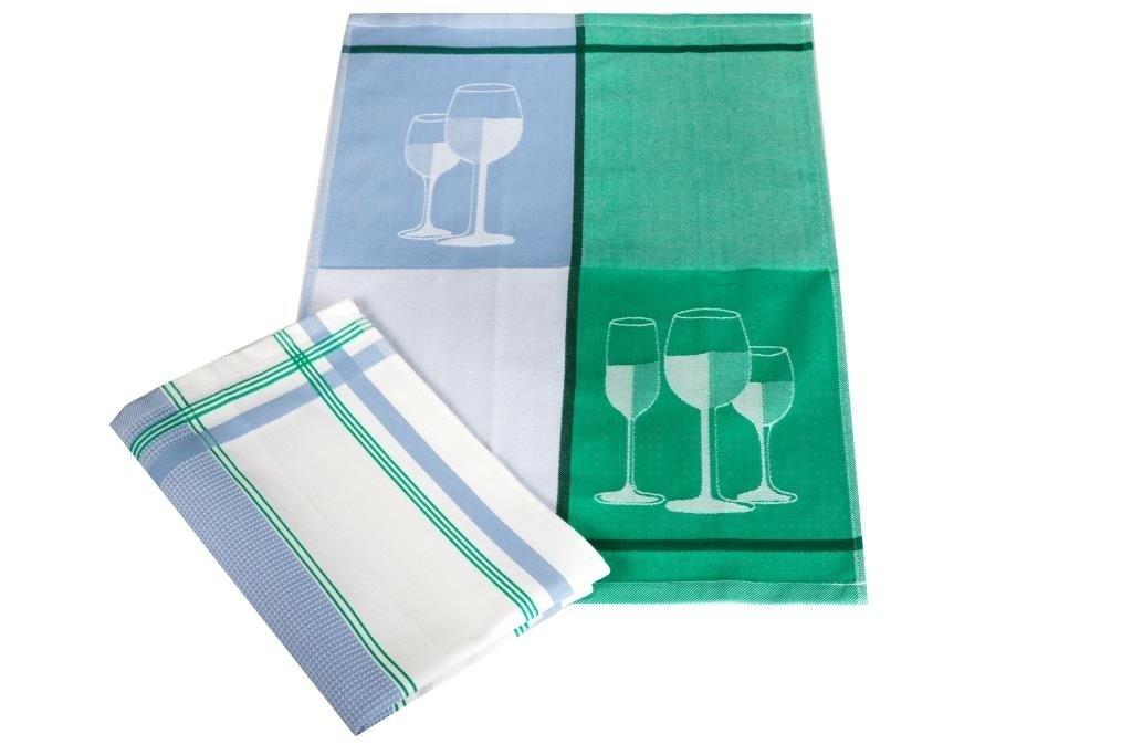 Полотенца Toalla Кухонное полотенце Tasse (40х60 см - 2 шт) bon appetit кухонное полотенце cake цвет голубой 40х60 см 2 шт
