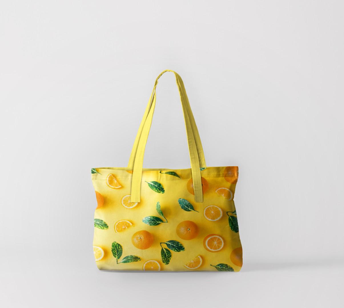 Пляжная сумка Апельсины на солнце (50х40 см) Олимп Текстиль oli732552