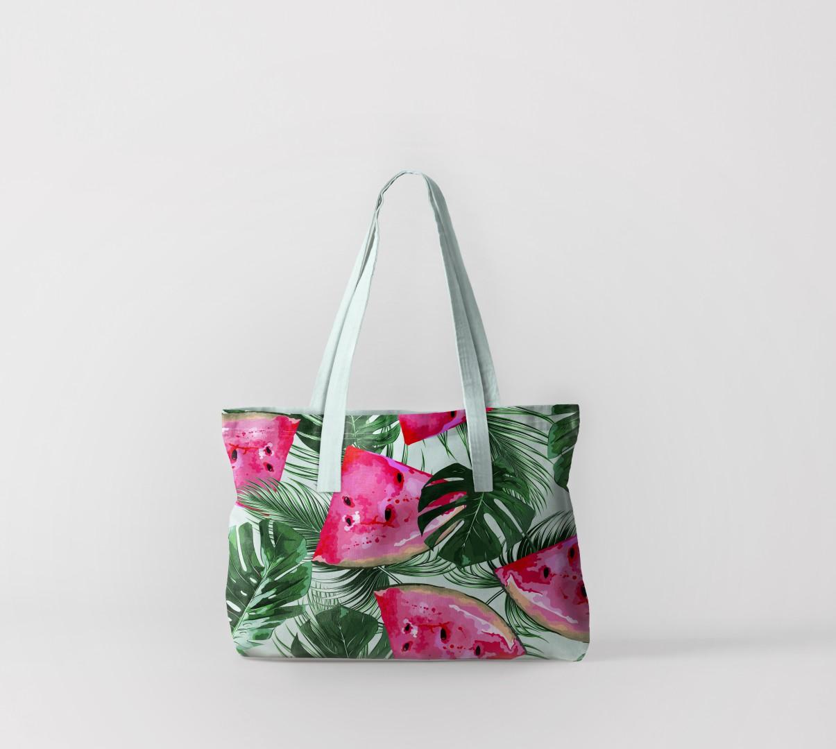 Пляжная сумка Арбузы (50х40 см) Олимп Текстиль oli732554