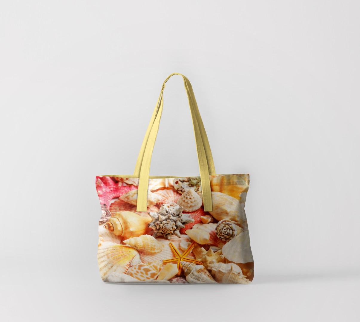 Пляжная сумка Богатство ракушек (50х40 см) Олимп Текстиль oli732557