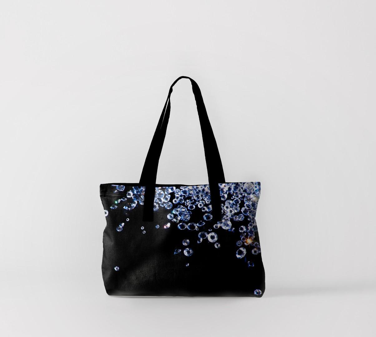 Пляжная сумка Бриллианты (50х40 см) Олимп Текстиль oli732558