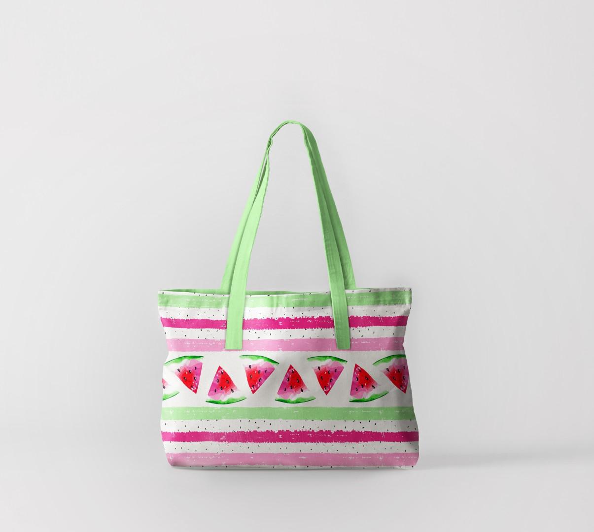 Пляжная сумка Дольки арбузов 1 (50х40 см) Олимп Текстиль oli732566