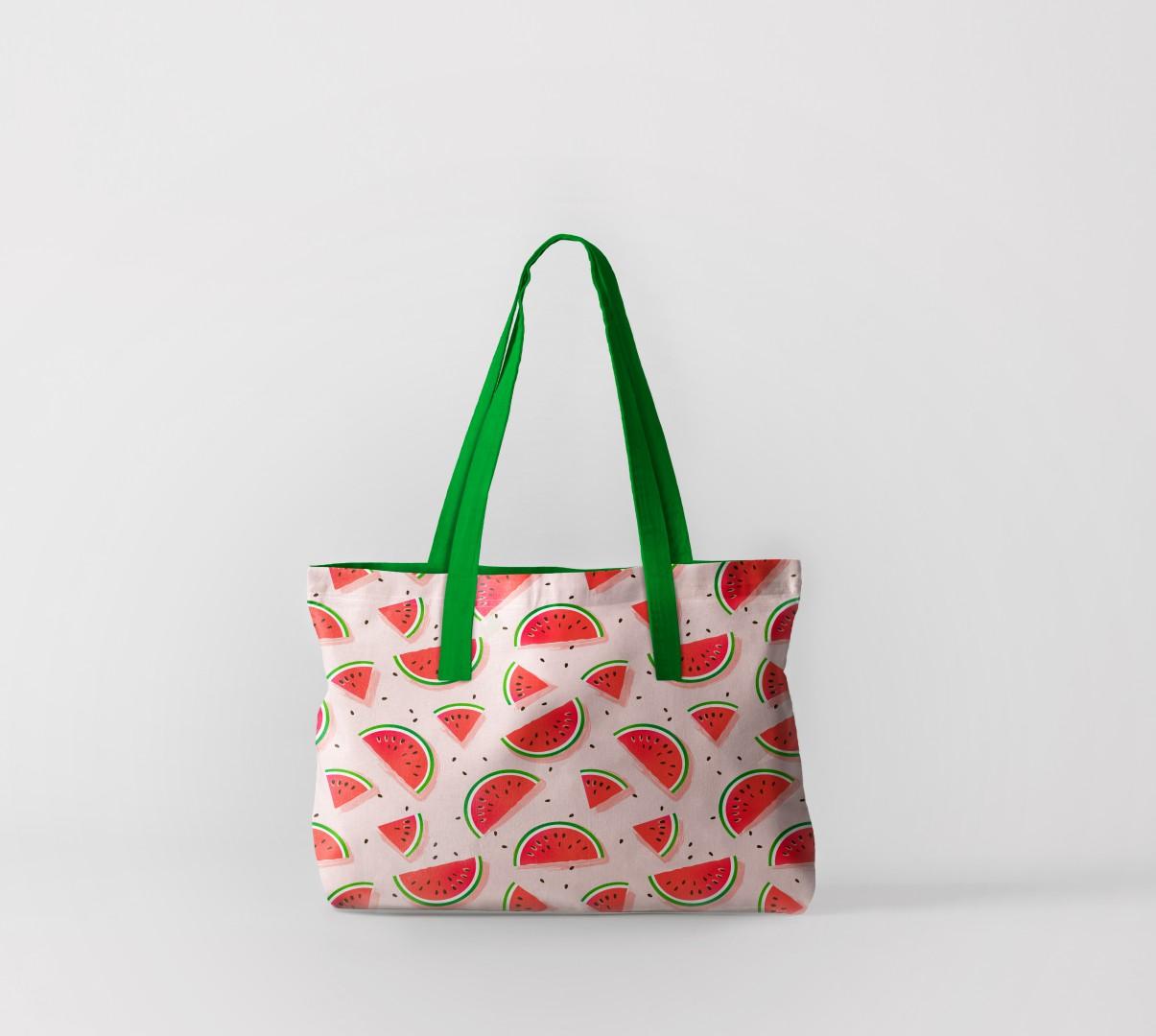 Пляжная сумка Дольки арбузов 2 (50х40 см) Олимп Текстиль oli732567