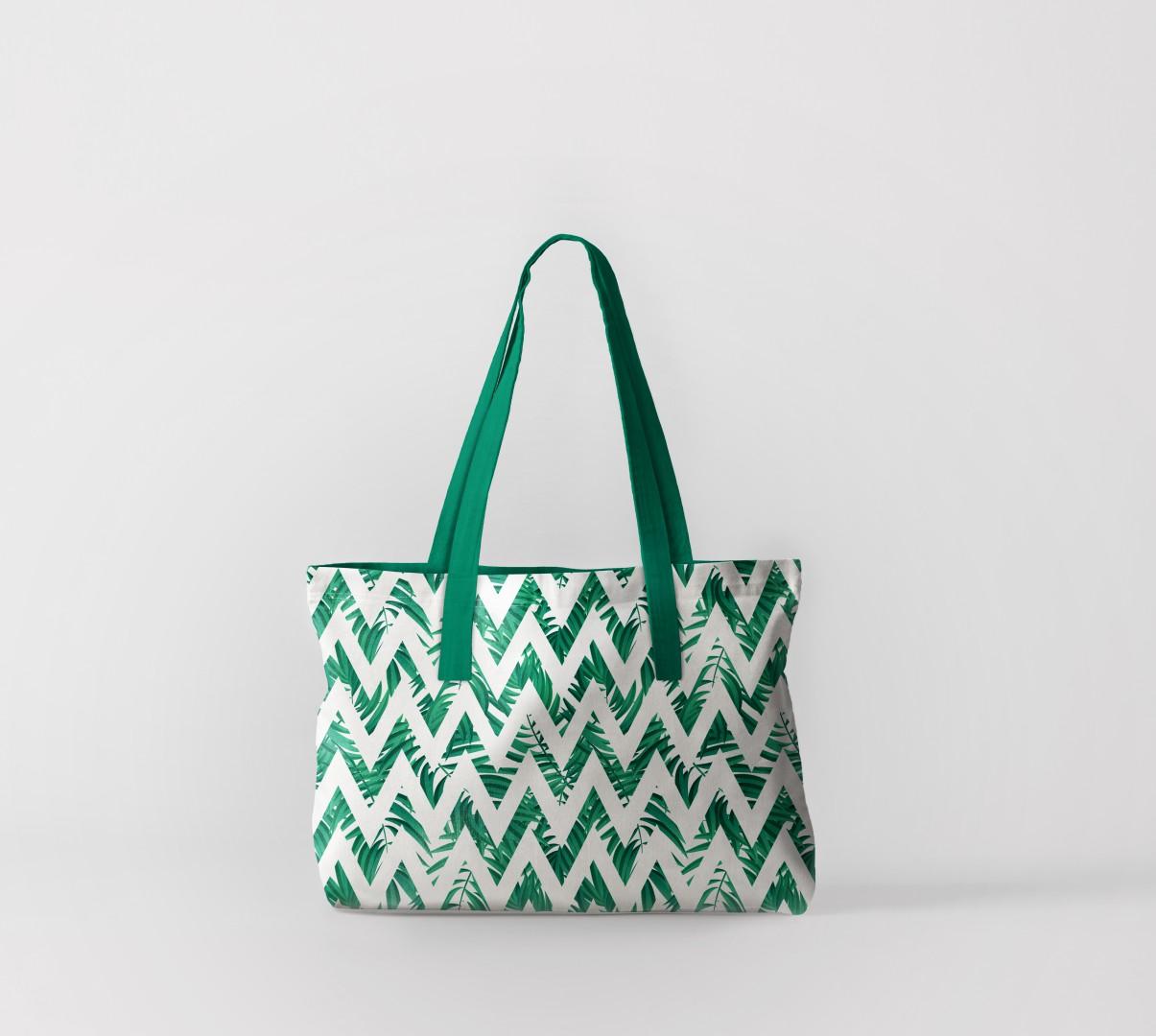 Пляжная сумка Флора тропиков 1 (50х40 см) Олимп Текстиль oli732601