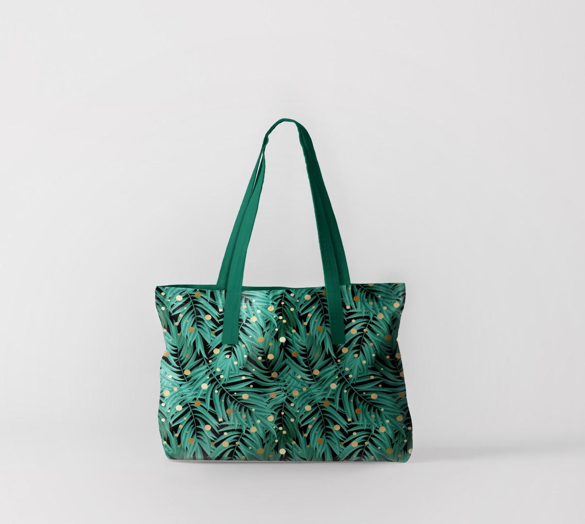 Пляжная сумка Флора тропиков 2 (50х40 см) Олимп Текстиль oli732602