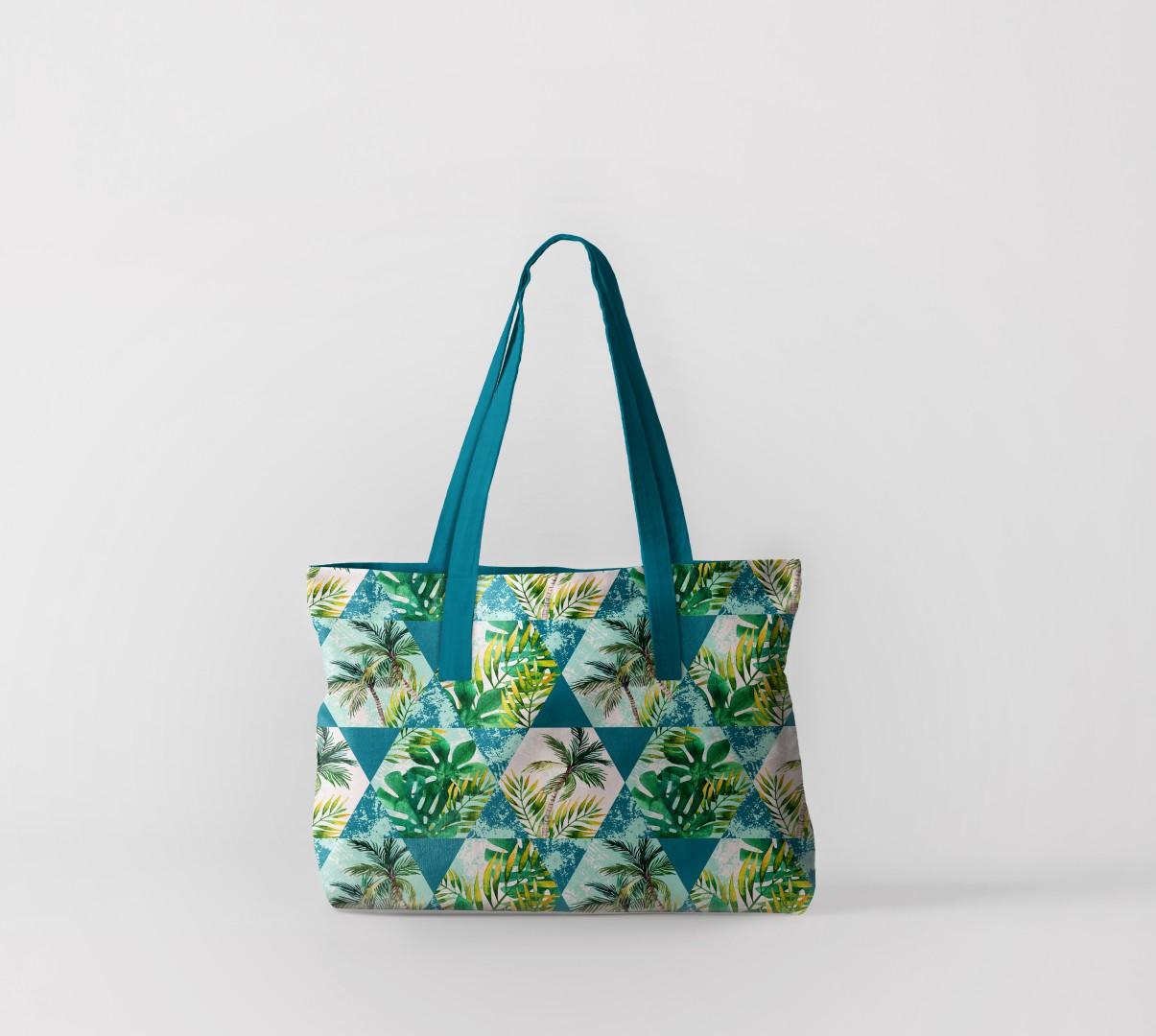 Пляжная сумка Флора тропиков 3 (50х40 см) Олимп Текстиль oli732603
