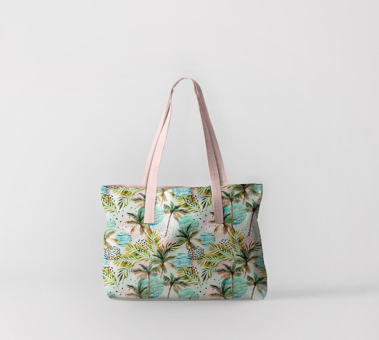 Пляжная сумка Флора тропиков 4 (50х40 см) Олимп Текстиль oli732604