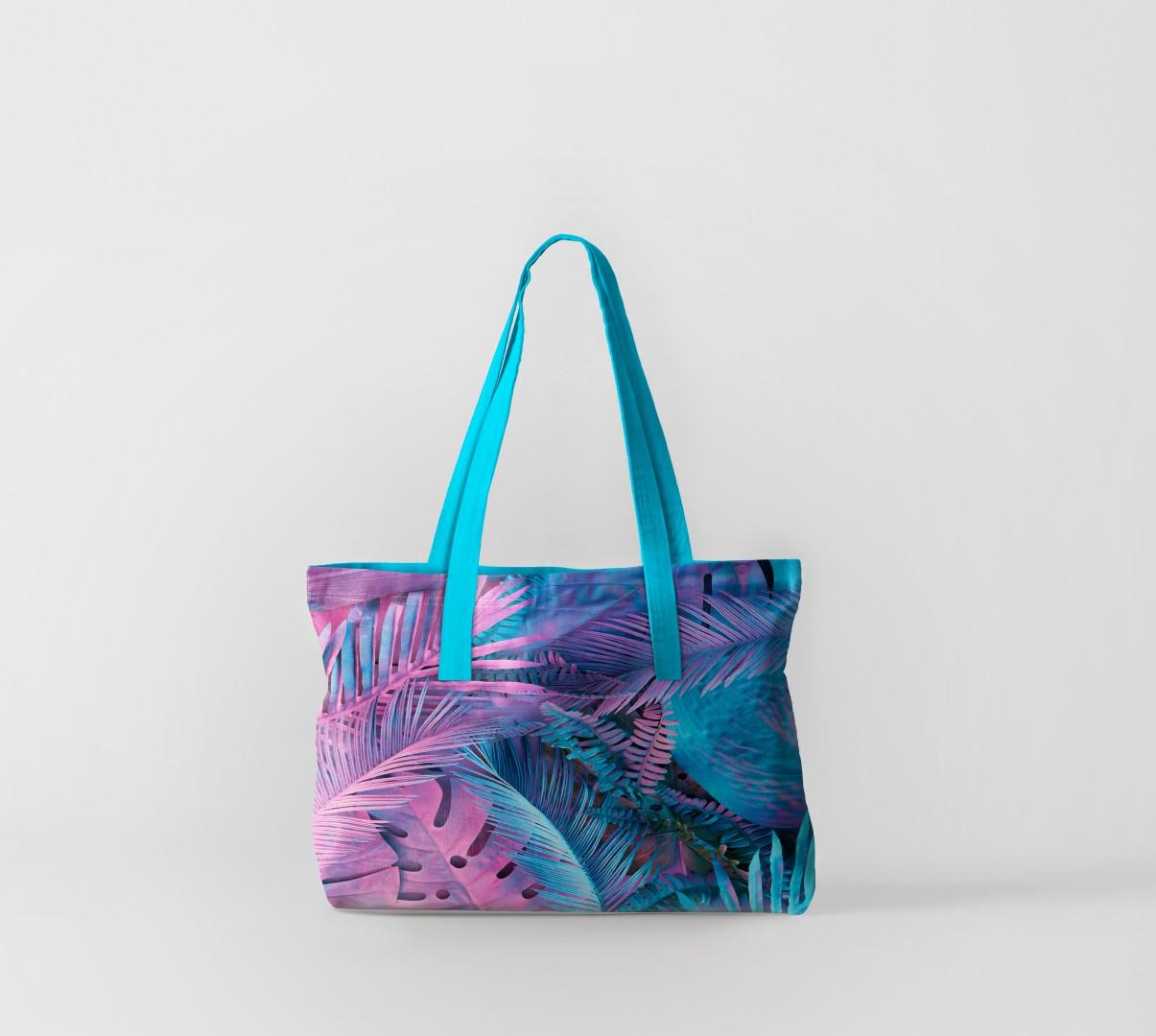 Пляжная сумка Флора тропиков 5 (50х40 см) Олимп Текстиль oli732605