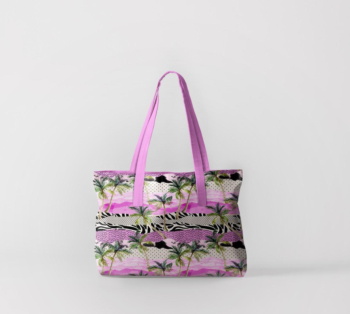 Пляжная сумка Флора тропиков 6 (50х40 см) Олимп Текстиль oli732606
