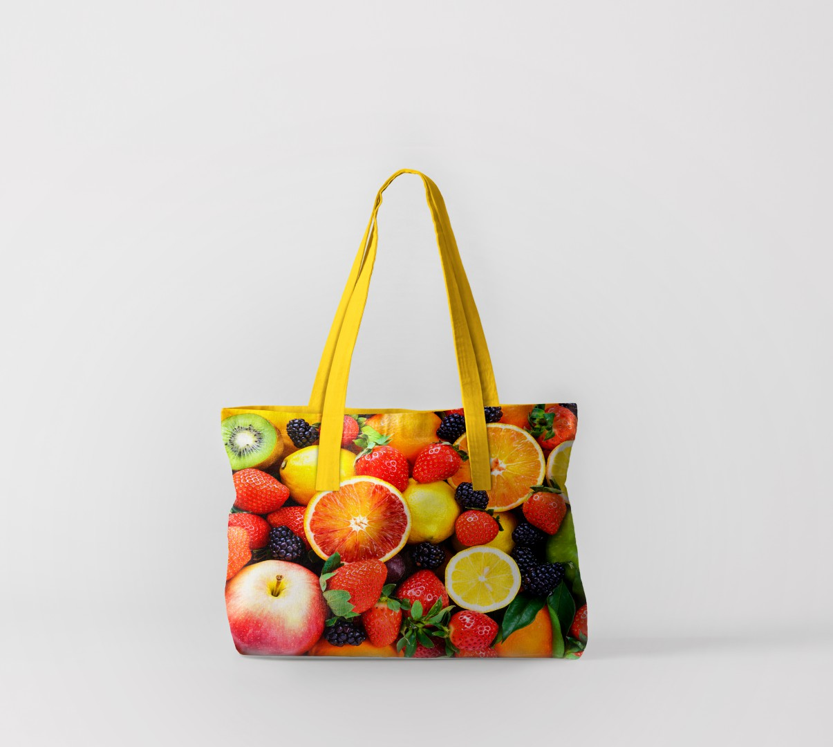 Пляжная сумка Фруктовое утро (50х40 см) Олимп Текстиль oli732608