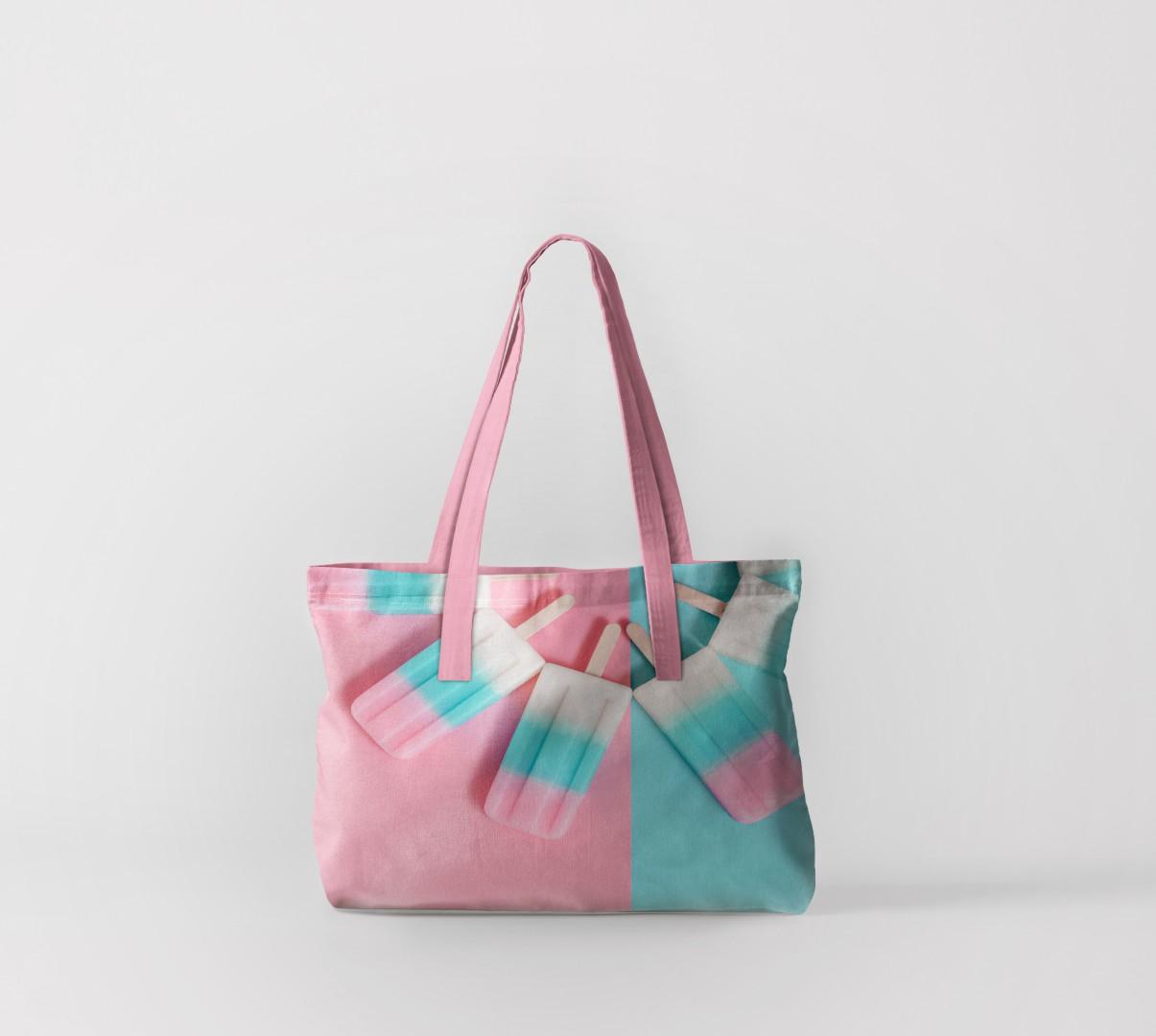 Пляжная сумка Фруктовый лёд (50х40 см) Олимп Текстиль oli732609