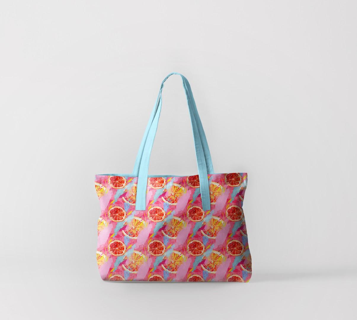 Пляжная сумка Грейпфруты (50х40 см) Олимп Текстиль oli732564