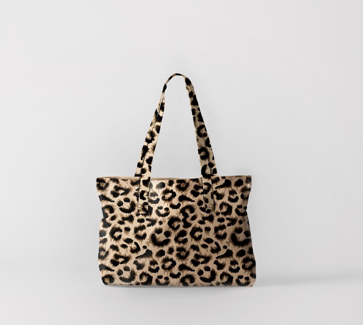 Пляжная сумка Леопард 2 (50х40 см) Олимп Текстиль oli732573