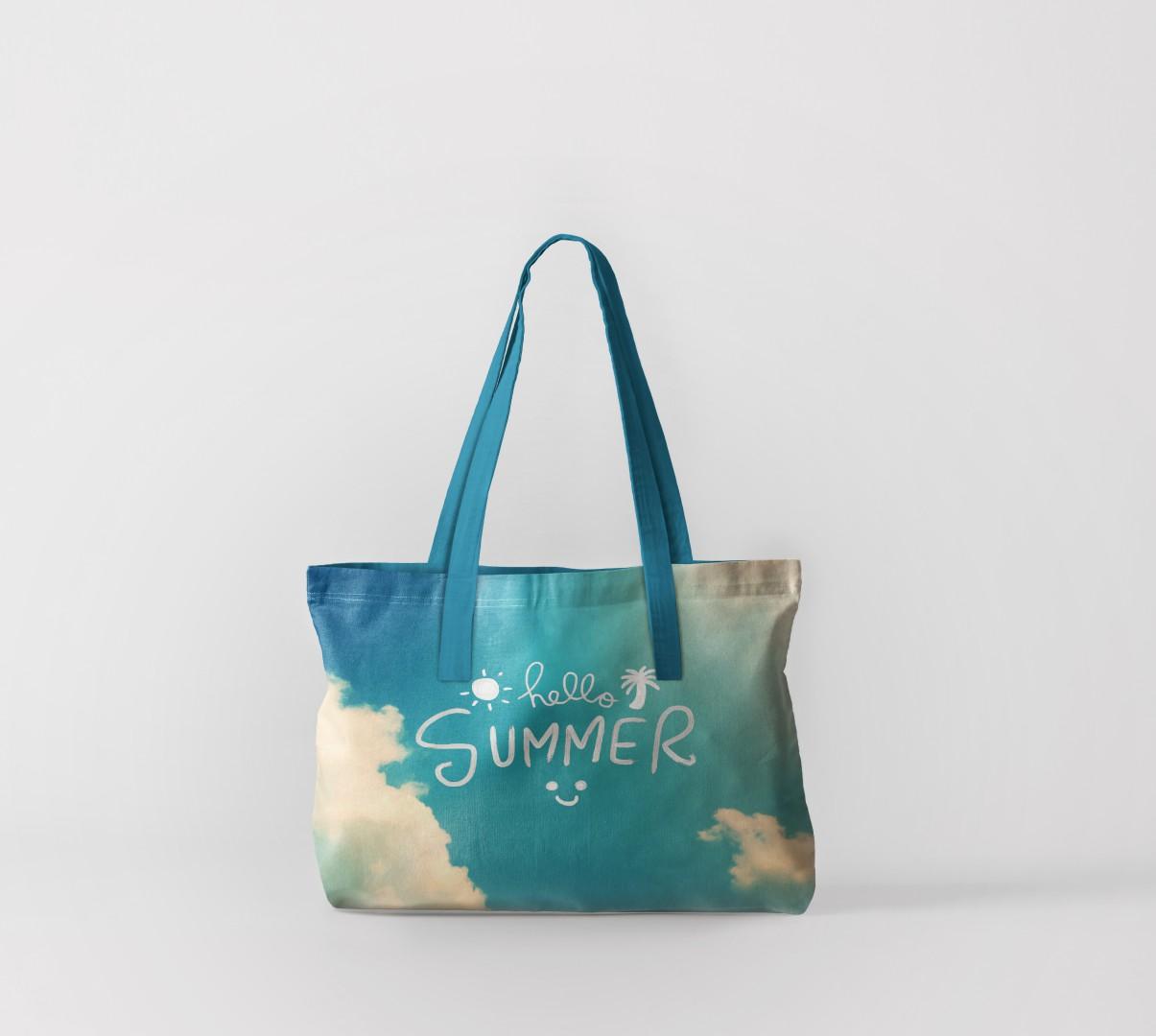 Пляжная сумка Летний привет (50х40 см) Олимп Текстиль oli732574