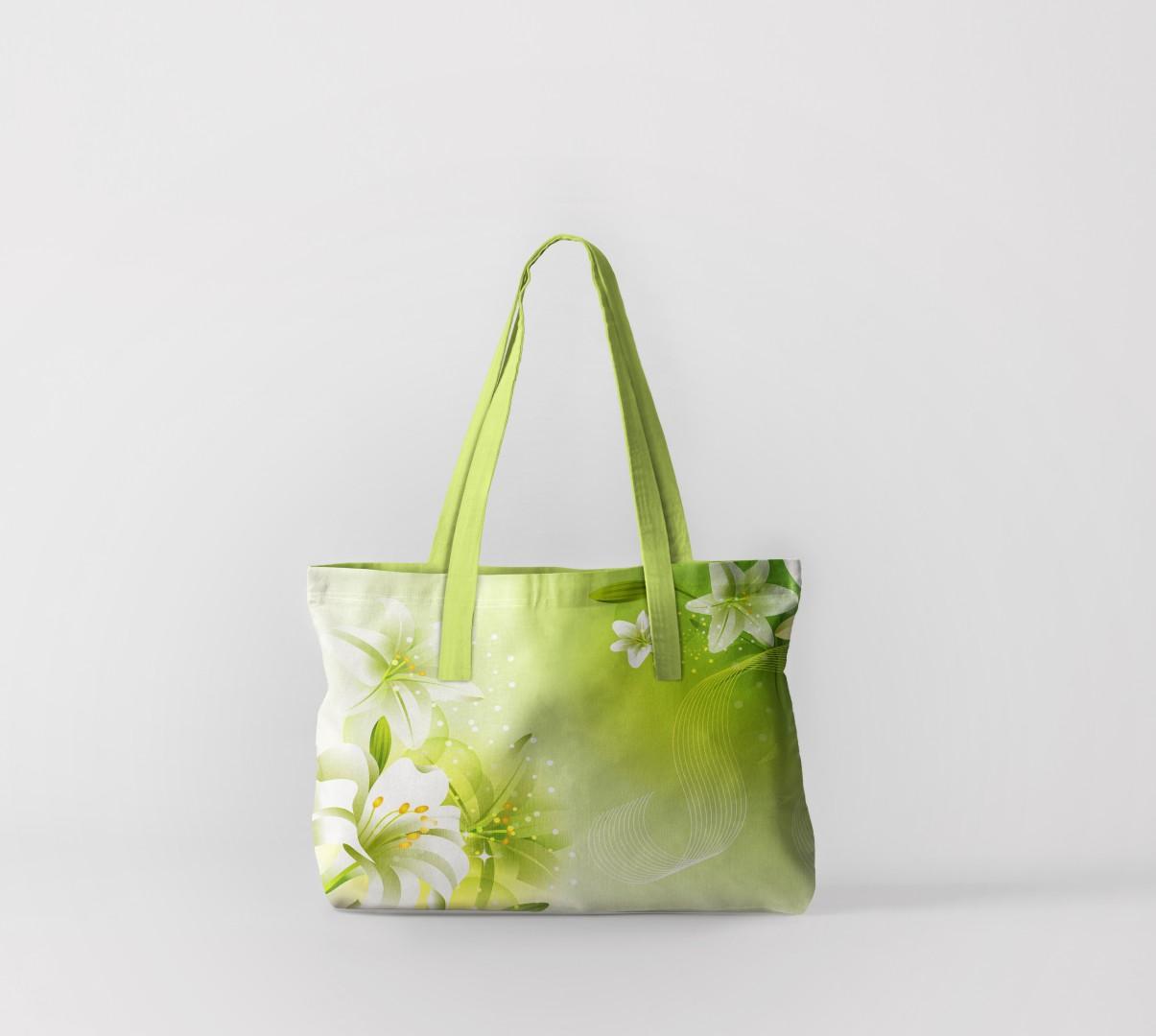 Пляжная сумка Лилии (50х40 см) Олимп Текстиль oli732576