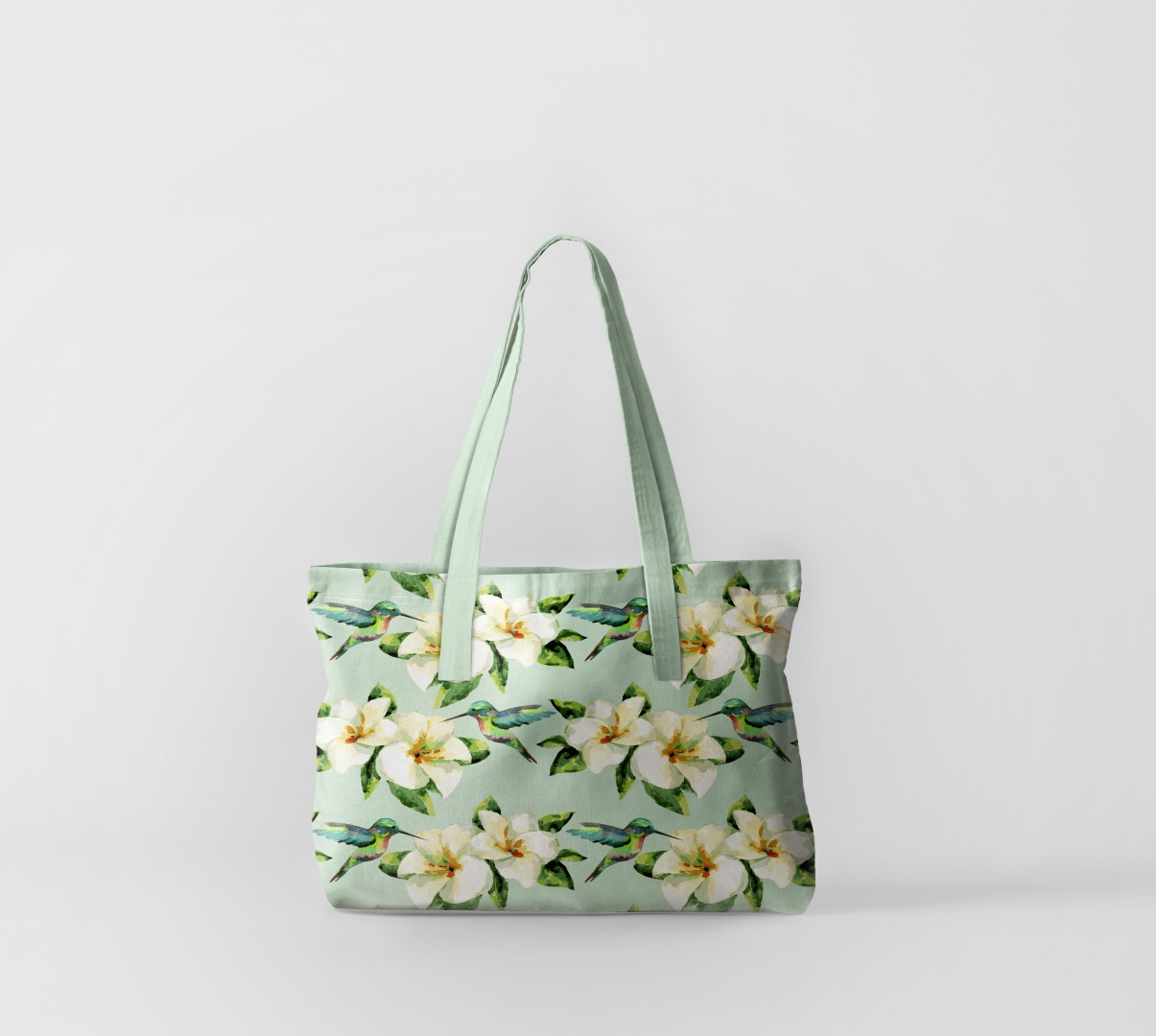 Пляжная сумка Маленькие колибри (50х40 см) Олимп Текстиль oli732580