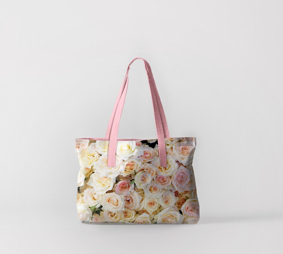 Пляжная сумка Нежнейшие цветы (50х40 см) Олимп Текстиль oli732583