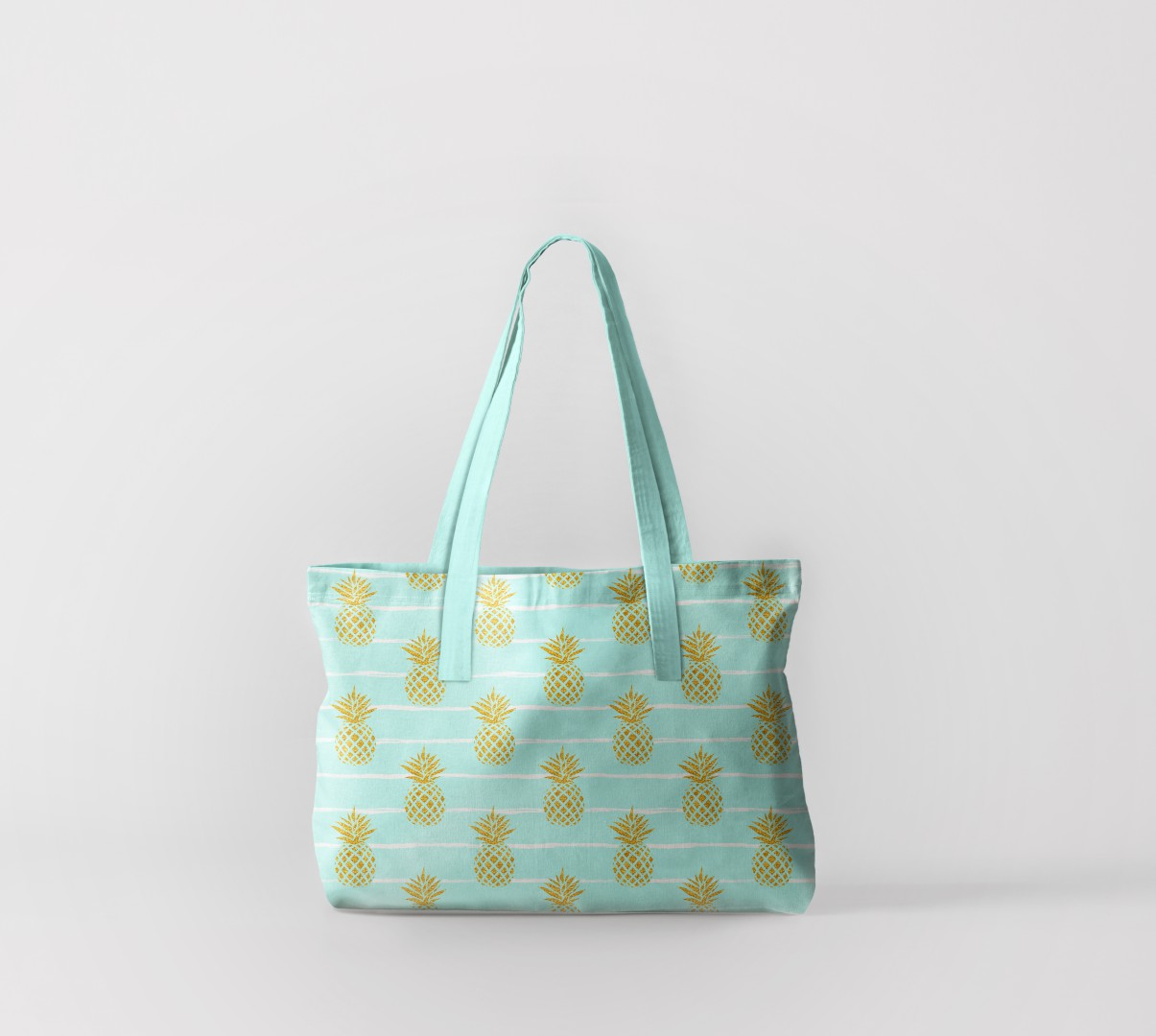 Пляжная сумка Нежные ананасы 2 (50х40 см) Олимп Текстиль oli732584