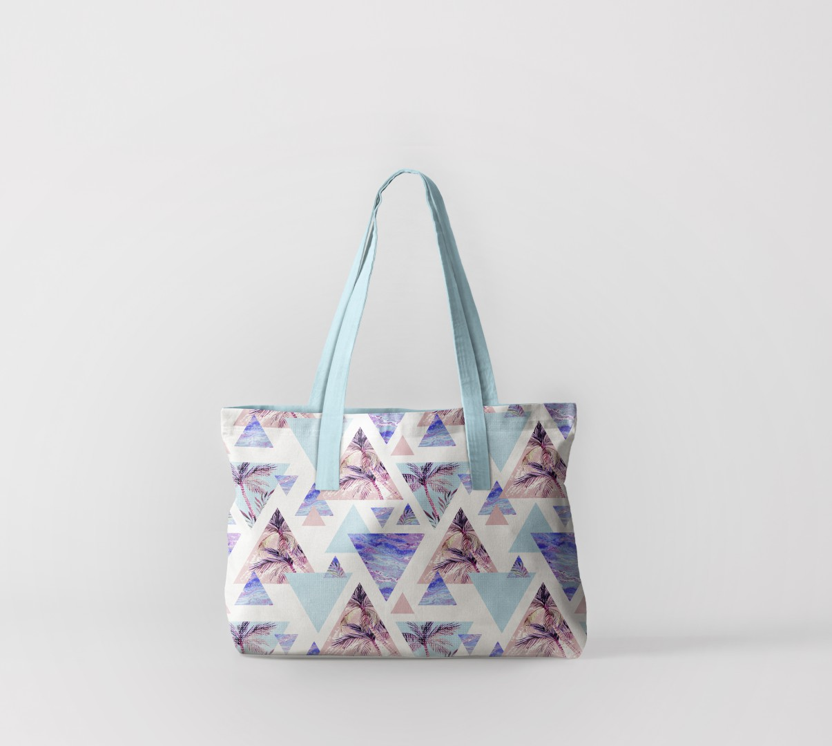 Пляжная сумка Пальма в абстракции (50х40 см) Олимп Текстиль oli732585