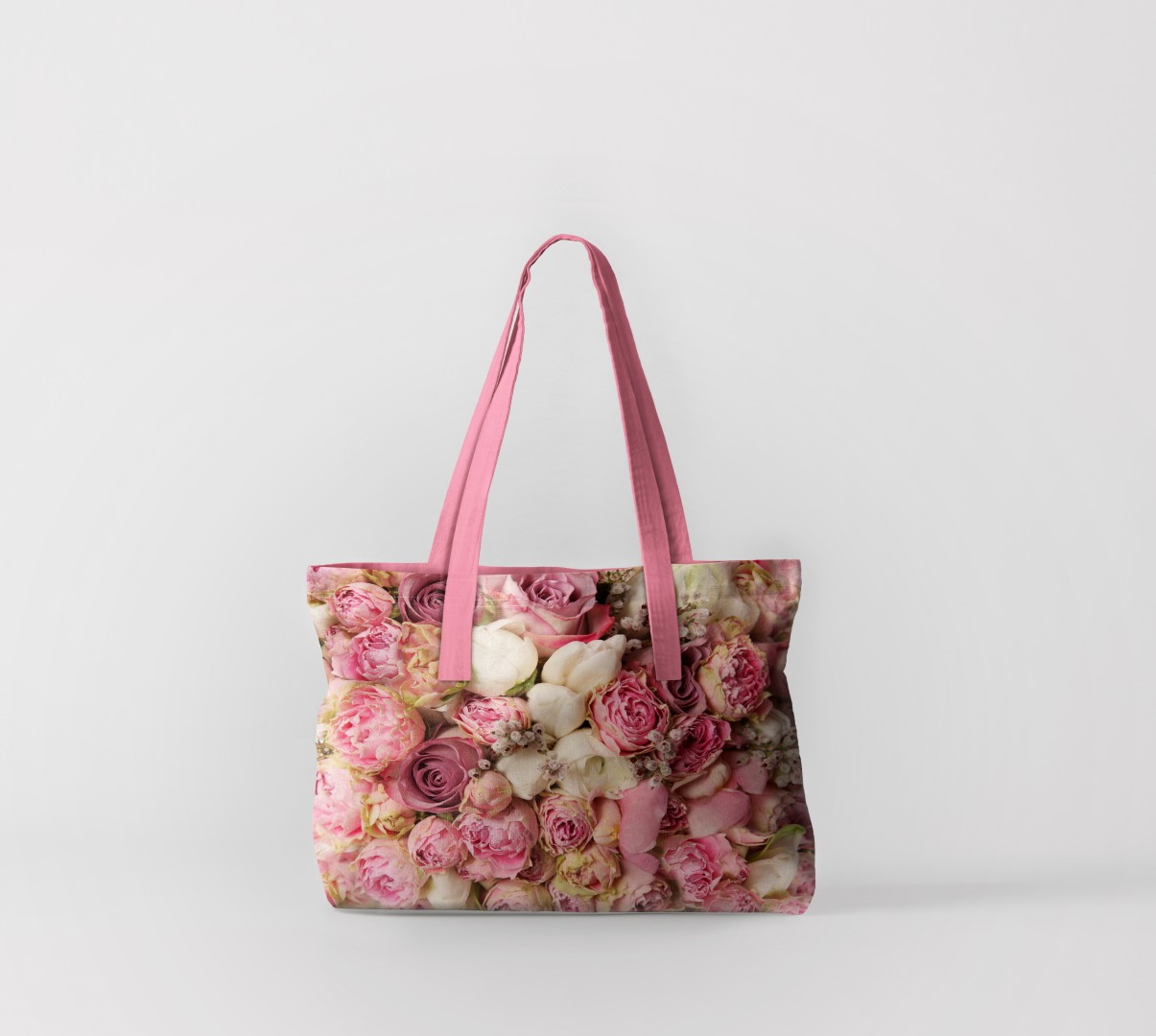 Пляжная сумка Пионы (50х40 см) Олимп Текстиль oli732588