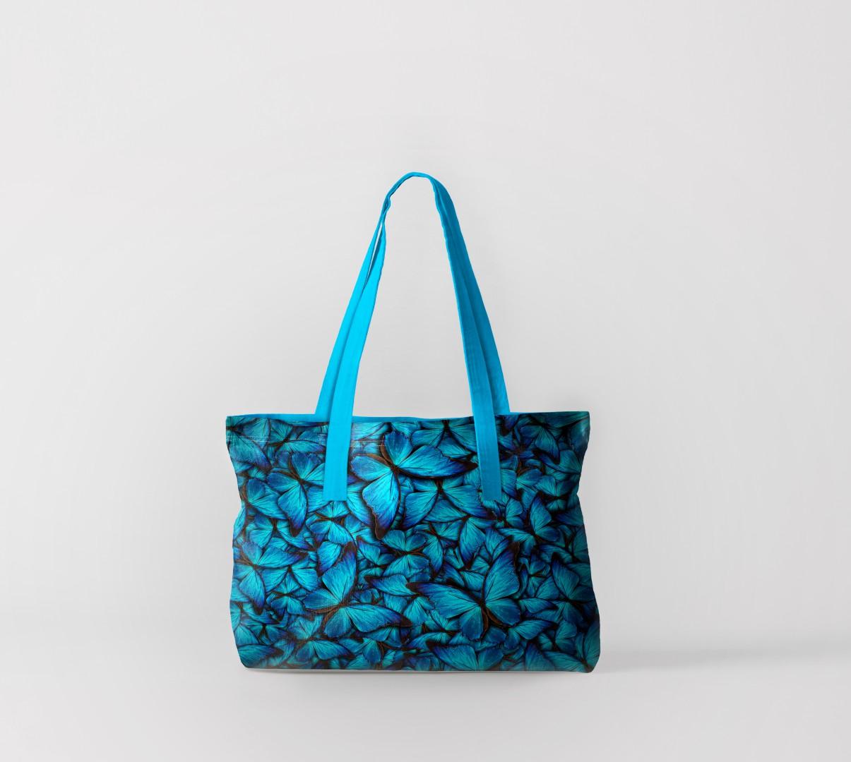 Пляжная сумка Полотно из бабочек (50х40 см) Олимп Текстиль oli732589