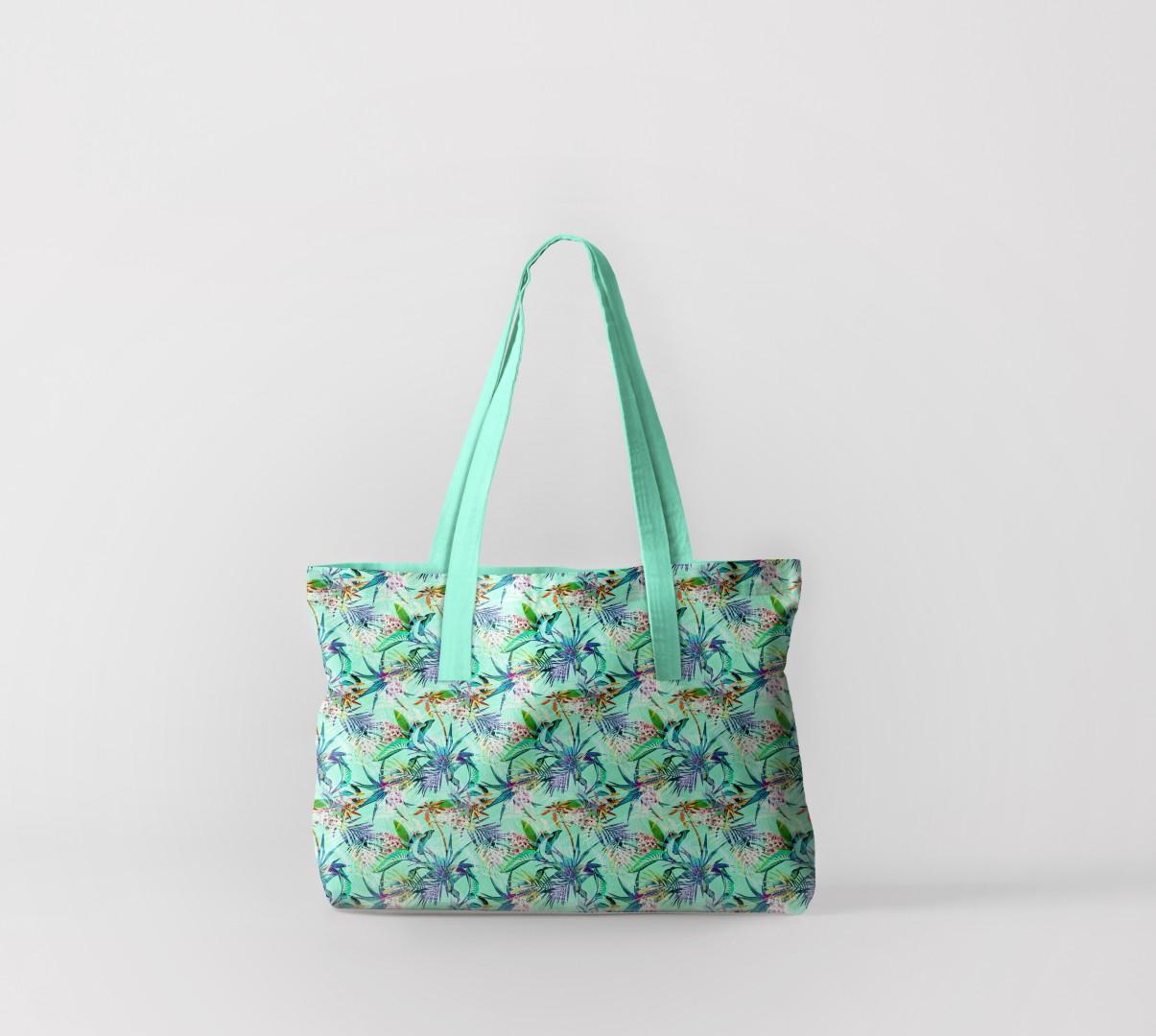 Пляжная сумка Тропический лес (50х40 см) Олимп Текстиль oli732597