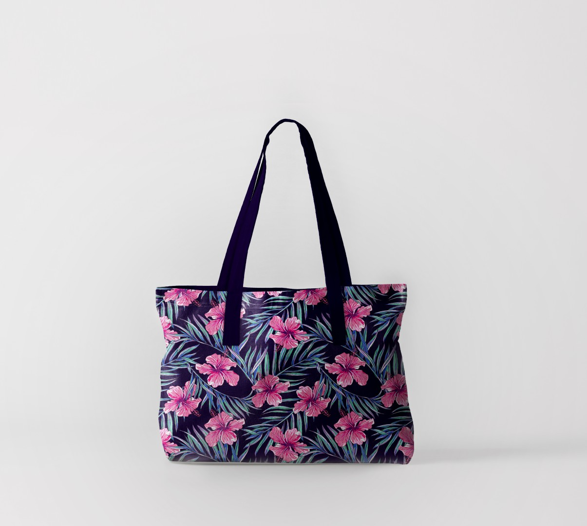 Пляжная сумка Цветы из тропиков (50х40 см) Олимп Текстиль oli732611