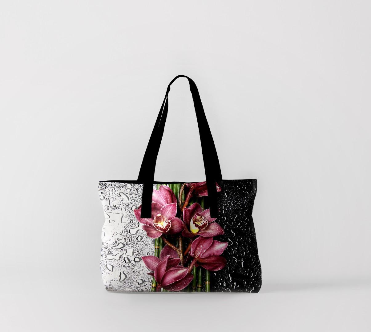 Пляжная сумка Цветы после дождя (50х40 см) Олимп Текстиль oli732613