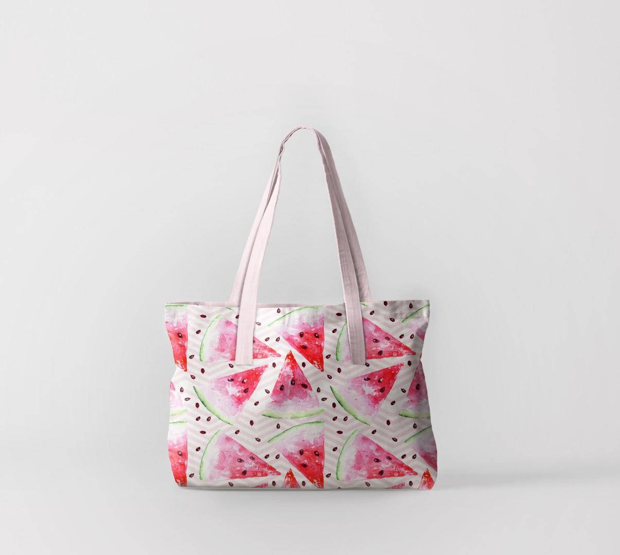 Пляжная сумка Яркий арбуз (50х40 см) Олимп Текстиль oli732617