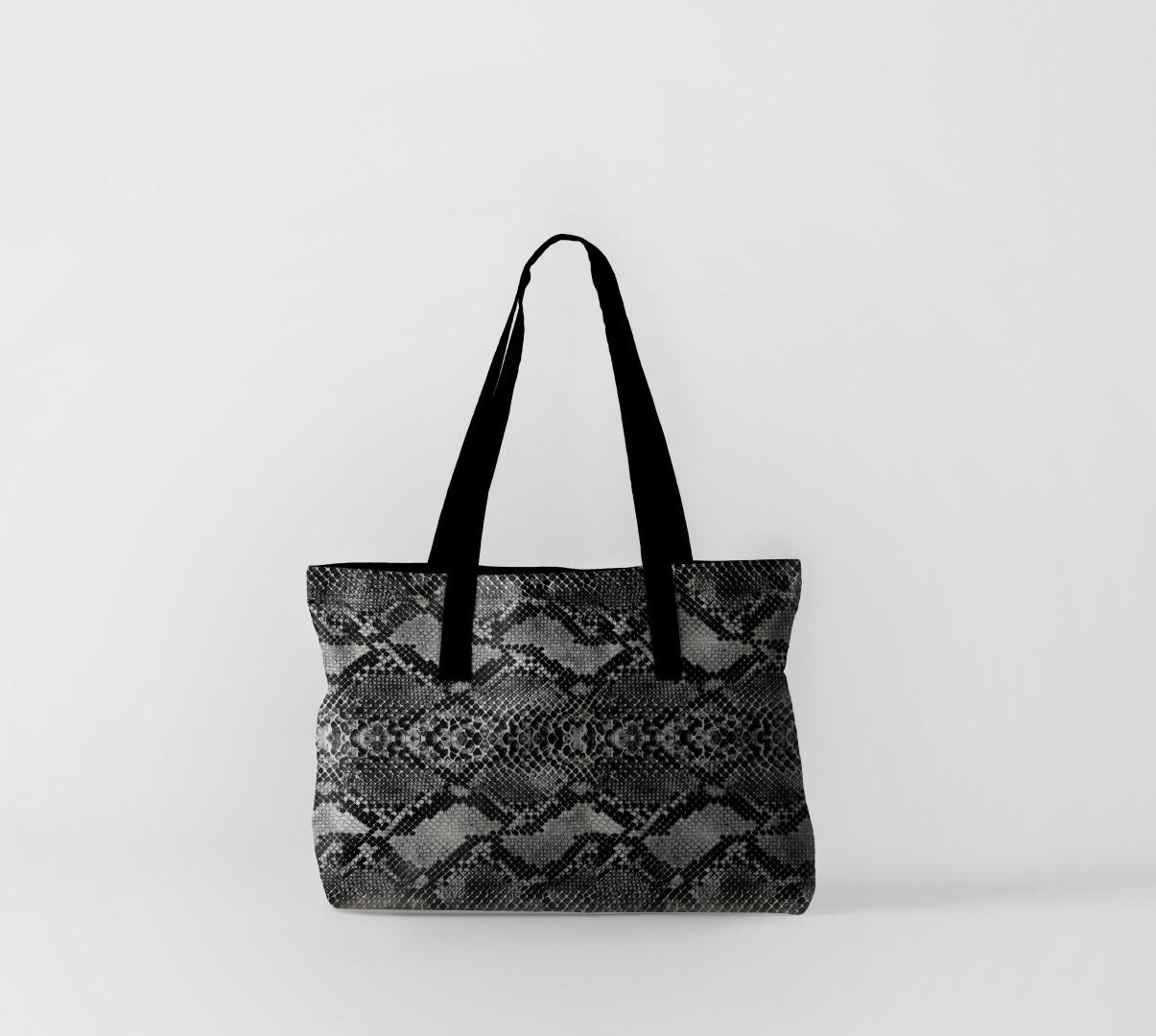 Пляжная сумка Змеиная кожа (50х40 см) Олимп Текстиль oli732570