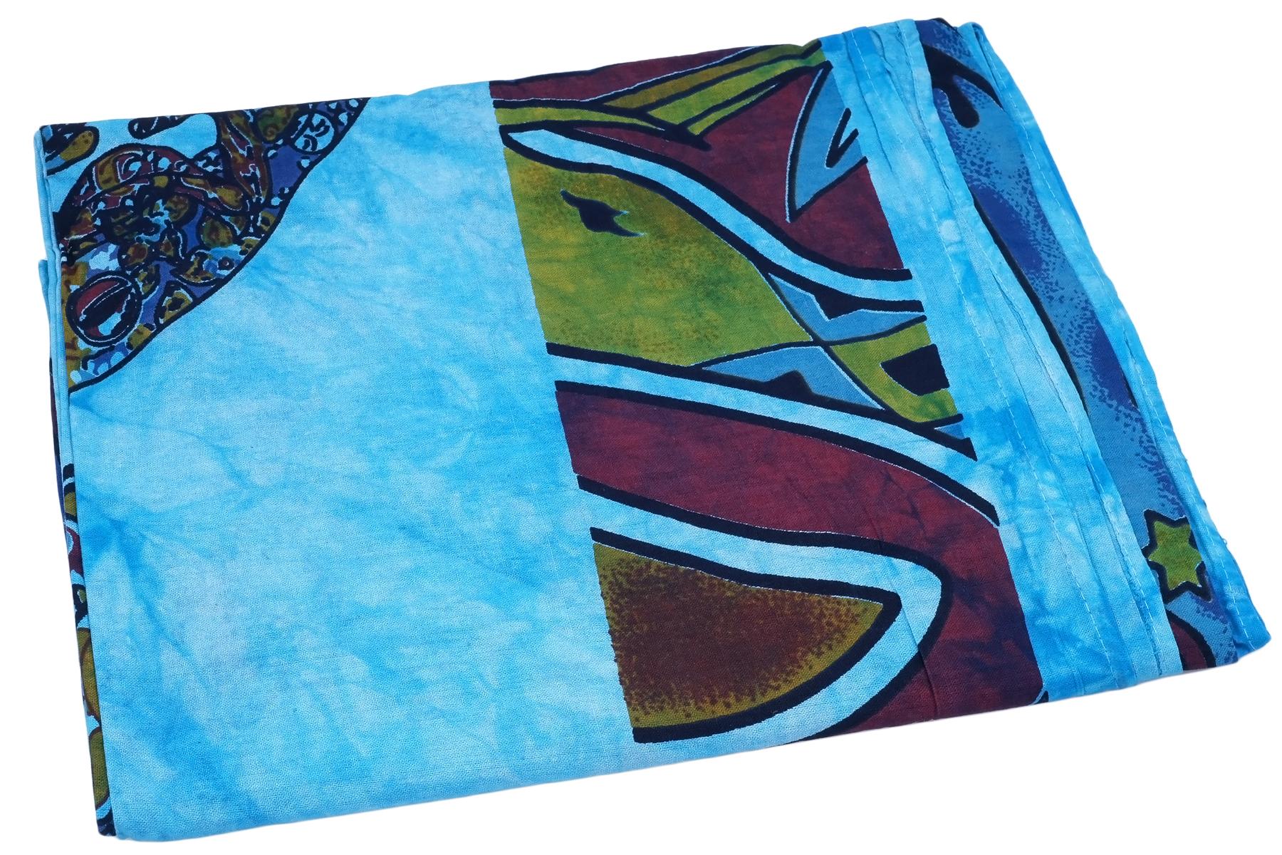 Пледы и покрывала Ethnic Chic Покрывало Luisa Цвет: Голубой (215х130 см) luisa moretti костюм для дома selina цвет голубой l