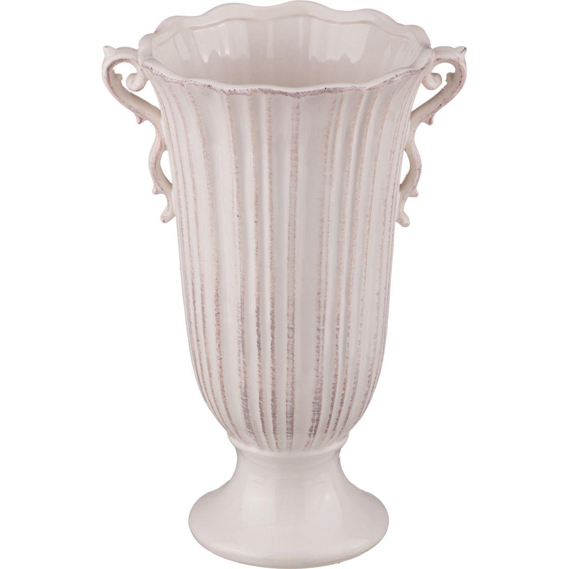 Вазы Lefard Ваза Диона Цвет: Айвори (15х27 см) lefard ваза caleigh 76 см