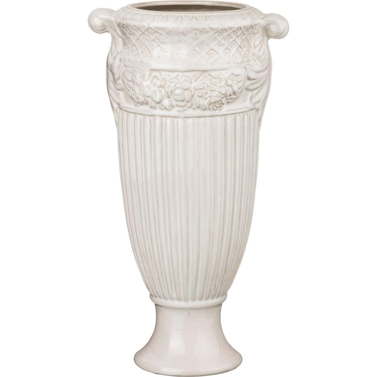 Вазы Lefard Ваза Амфора Цвет: Кремовый (15х36 см) lefard ваза zackery 69 см