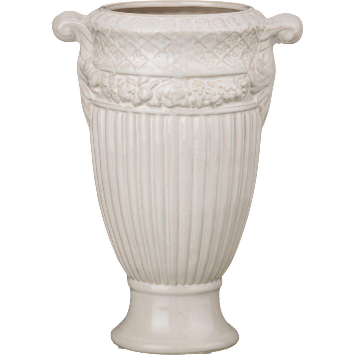 Вазы Lefard Ваза Амфора Цвет: Кремовый (14х24 см) lefard ваза caleigh 76 см