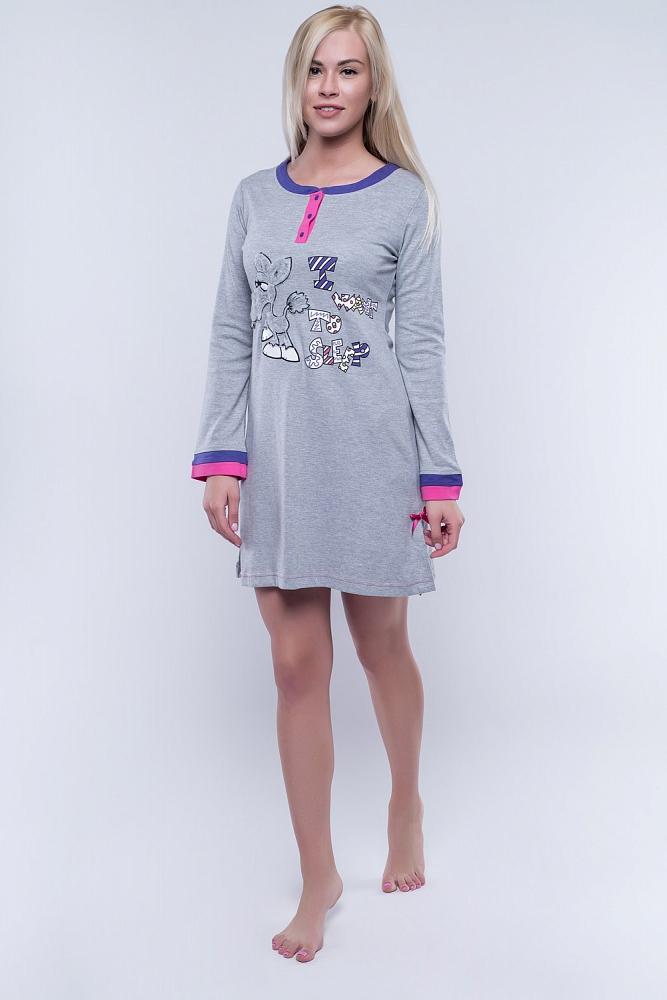 Ночная сорочка Donalda Цвет: Серый (50).
